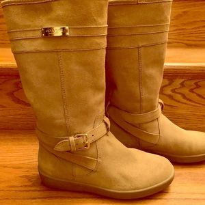 Coach Suede Leather Boots